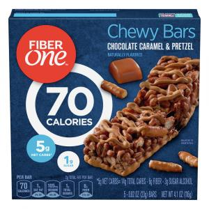 Fiber One Caramel Pretzel Bars