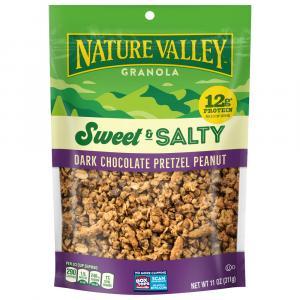 Nature Valley Dark Chocolate Pretzel Peanut Granola
