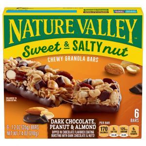 Nature Valley Dark Chocolate, Peanut & Almond Bars