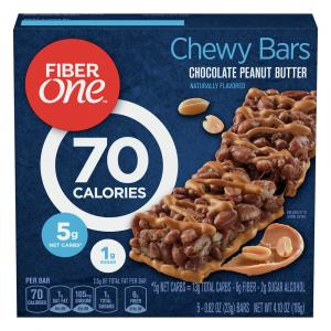 Fiber One Chocolate Peanut Butter Bars