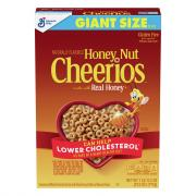 General Mills Honey Nut Cheerios Cereal Giant Size