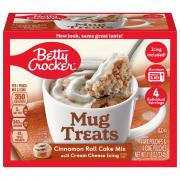 Betty Crocker Mug Treats Cinnamon Roll Cake Mix