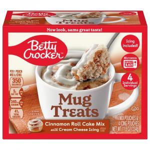 Betty Crocker Mug Treats Cinnamon Roll Cake Mix