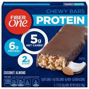 Fiber One Protein Coconut Almond Bars
