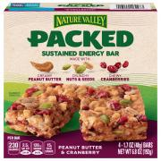 Nature Valley Peanut Butter & Cranberry Energy Bars