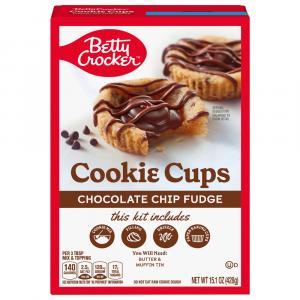 Betty Crocker Cookie Cups Chocolate Fudge