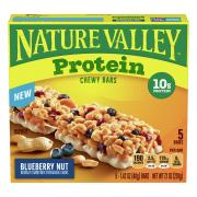 Nature Valley Protein Blueberry Nut Chewy Bars
