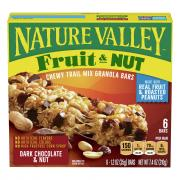 Nature Valley Chewy Dark Chocolate Nut Bars