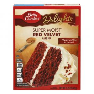 Betty Crocker Supermoist Red Velvet Mix