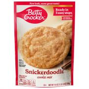 Betty Crocker Snickerdoodle Cookie Mix