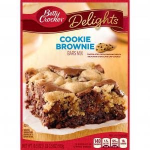 Betty Crocker Cookie Brownie Bar Supreme Mix