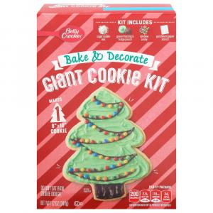 Betty Crocker Giant Bake & Decorate Cookie Kit