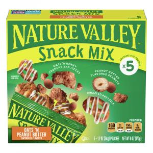 Nature Valley Snack Mix Oats 'N Peanut Butter