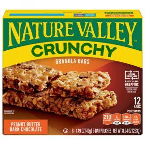 Nature Valley Crunchy Peanut Butter Dark Chocolate Granola