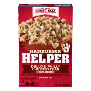Betty Crocker Hamburger Helper Philly Cheese