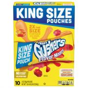 Fruit Gushers Flavor Mixers King Size Pouch