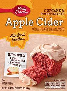Betty Crocker Apple Cider Cup Cake Kit