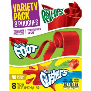 Betty Crocker General Mills Fruit Variety Pack Pouches