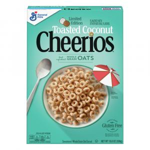 General Mills Toasted Coconut Cheerios Cereal