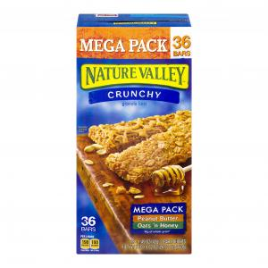 Nature Valley Granola Bars Peanut Butter & Oats N Honey