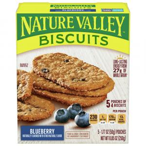 Nature Valley Breakfast Biscuits Blueberry