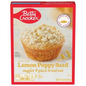 Betty Crocker Lemon Poppy Seed Muffin Mix