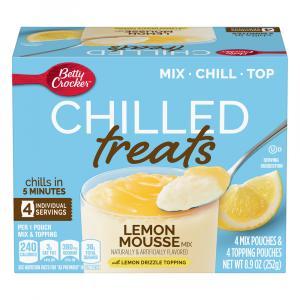 Betty Crocker Chilled Treats Lemon Mousse Mix