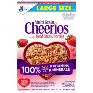 General Mills Multi Grain Cheerios with Strawberries