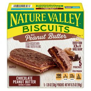 Nature Valley Biscuits Chocolate Peanut Butter
