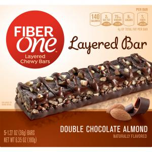 Fiber One Double Chocolate Almond Bars
