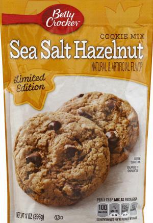 Betty Crocker Sea Salt Hazelnut Cookie Mix
