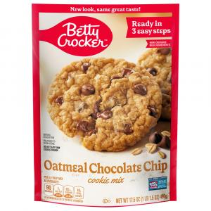 Betty Crocker Oatmeal Chocolate Chip Pouch Cookie Mix