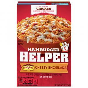 Betty Crocker Hamburger Helper Cheesy Enchilada