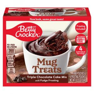 Betty Crocker Mug Treats Triple Chocolate Cake Mix