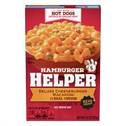 Betty Crocker Hamburger Helper Ultimate Cheesburger Macaroni