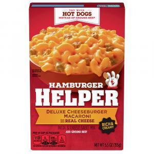 Betty Crocker Hamburger Helper Ultimate Cheesburger Macaroni