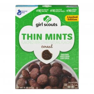 Girl Scouts Thin Mint Cereal