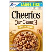 General Mills Cheerios Oat Crunch Oats 'N Honey