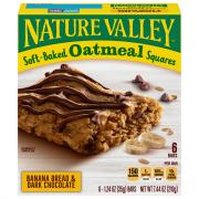 Nature Valley Oatmeal Banana Bread & Dark Chocolate Squares