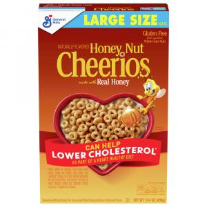 General Mills Honey Nut Cheerios Cereal
