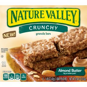 Nature Valley Crunchy Granola Bars Almond Butter