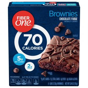 Fiber One Chocolate Fudge Brownies