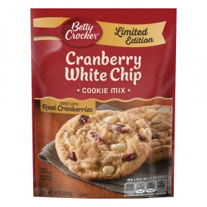 Betty Crocker Cranberry White Chip Cookie Mix