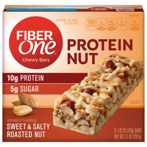 Fiber One Sweet & Salty Roasted Nut Chewy Bars