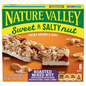 Nature Valley Sweet & Salty Granola Bars Roasted Mixed Nut