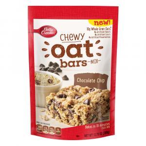Betty Crocker Chewy Oat Bars Mix - Chocolate Chip