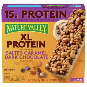 Nature Valley XL Protein Salted Caramel Dark Chocolate Chewy