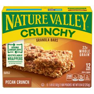 Nature Valley Pecan Crunch Granola Bars