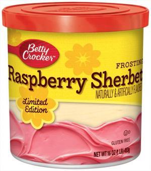 Betty Crocker Raspberry Sherbet Frosting