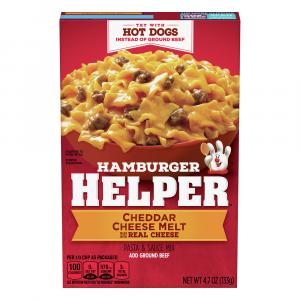 Betty Crocker Hamburger Helper Classic Cheddar Cheese Melt